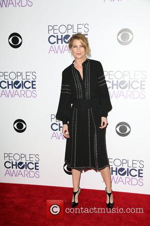 Ellen Pompeo - People's Choice Awards 2016 held at Microsoft Theatre L.A. Live. - Press Room at Microsoft Theatre L.A....