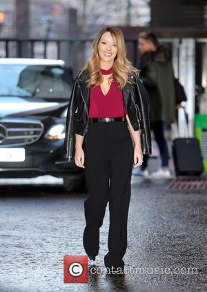 Katie Piper - Katie Piper outside ITV Studios - London, United Kingdom - Wednesday 6th January 2016
