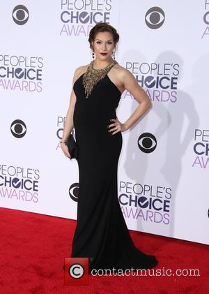 Allison Holker - People's Choice Awards 2016 held at the Microsoft Theatre L.A. Live - Arrivals at Microsoft Theater, People's...