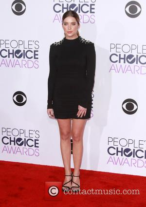 Ashley Benson - People's Choice Awards 2016 held at the Microsoft Theatre L.A. Live - Arrivals at Microsoft Theatre L.A....