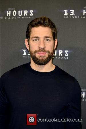 John Krasinski - Premiere of the '13 Hours: The Secret Soldiers of Benghazi' screening at Aventura AMC Theater - arrivals...