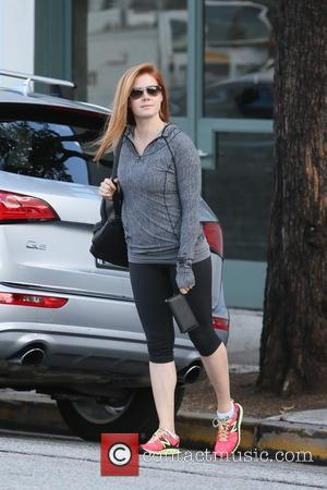 Amy Adams - Amy Adams seen leaving Balayage hair salon at Beverly Hills - Los Angeles, California, United States -...