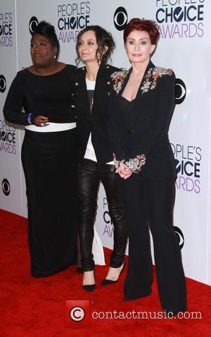 Sheryl Underwood, Sara Gilbert and Sharon Osbourne