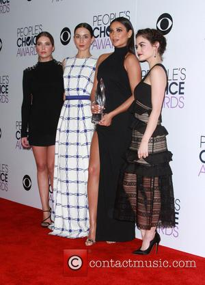 Ashley Benson, Troian Bellisario, Shay Mitchell , Lucy Hale - People's Choice Awards 2016 - Press Room held at the...