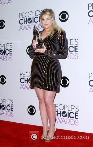 Meghan Trainor - People's Choice Awards 2016 - Press Room held at the Microsoft Theatre L.A. Live at Microsoft Theatre...
