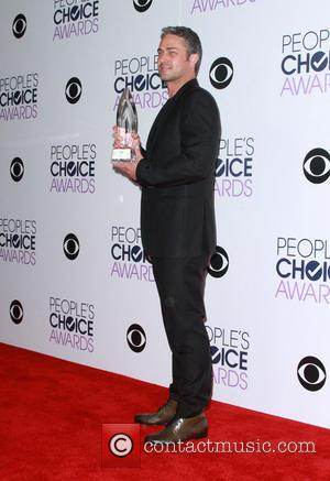 Taylor Kinney - People's Choice Awards 2016 - Press Room held at the Microsoft Theatre L.A. Live at Microsoft Theatre...