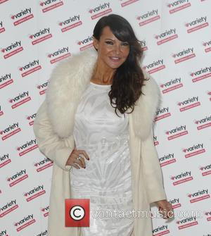 Lizzie Cundy - Torvill and Dean tribute lunch in aid of Variety at The Dorchester - London, United Kingdom -...