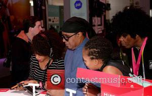 Stevie Wonder - 2016 CES Las Vegas at LVCC, Venetian - Las Vegas, Nevada, United States - Thursday 7th January...