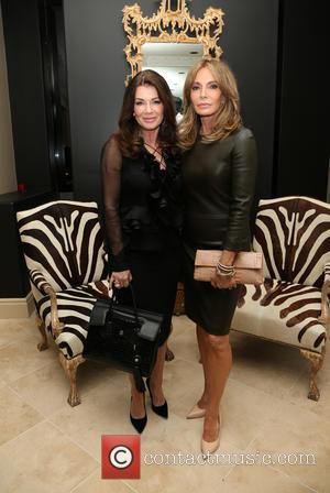 Lisa Vanderpump , Jaclyn Smith - Mark Zunino Atelier Opening - Inside at Mark Zunino Atelier - Beverly Hills, California,...