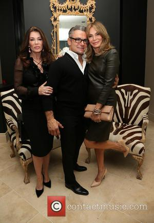 Lisa Vanderpump, Mark Zunino and Jaclyn Smith