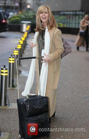 Kate Garraway - Kate Garraway outside ITV Studios - London, United Kingdom - Thursday 7th January 2016