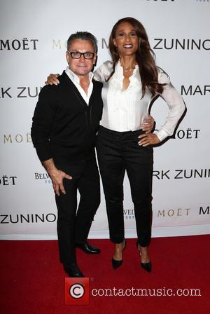 Mark Zunino and Beverly Johnson