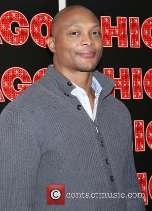 Eddie George - Photo call for NFL Legend and Heisman Trophy winner Eddie George starring in the Broadway musical Chicago,...