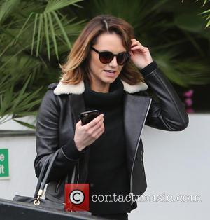 Kara Tointon - Kara Tointon outside ITV Studios - London, United Kingdom - Friday 8th January 2016