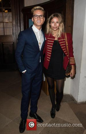 Oliver Proudlock , Emma Connolly - LCM a/w 2016: Joshua Kane - catwalk show held at Christ Church Spitalfields. - London, United...