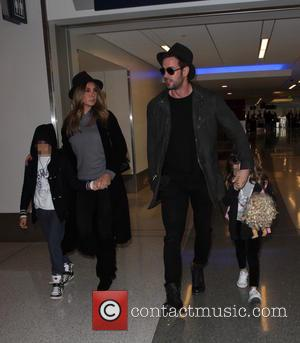 William Levy, Elizabeth Gutiérrez, Christopher Alexander Levy and Kailey Alexandra Levy