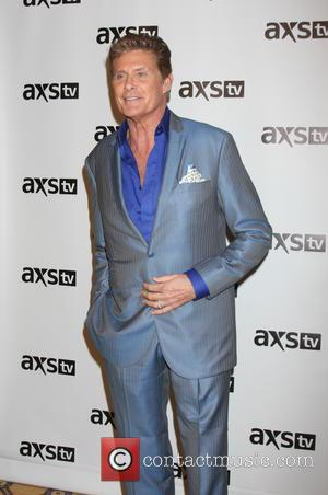 David Hasselhoff - AXS TV Winter 2016 TCA Cocktail Party at The Langham Huntington Hotel - Arrivals at The Langham...