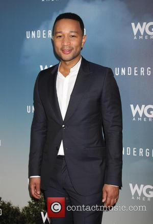 John Legend - Underground WGN Winter 2016 TCA Photocall at The Langham Huntington Hotel - Arrivals at The Langham Huntington...