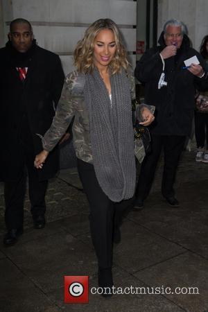 Leona Lewis - Leona Lewis arriving at the BBC Radio 2 studios at BBC Portland Place - London, United Kingdom...