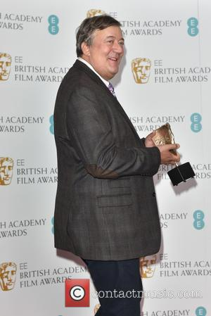 Stephen Fry - EE British Academy Film Awards in 2016 nominations held at Bafta Piccadilly. at British Academy Film Awards...
