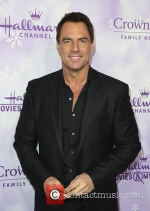 Mark Steines - Hallmark Channel and Hallmark Movies and Mysteries Winter 2016 TCA Press Tour - Arrivals at Tournament House...