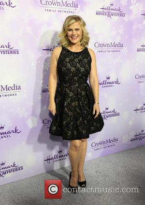 Alison Sweeney - Hallmark Channel and Hallmark Movies and Mysteries Winter 2016 TCA Press Tour - Arrivals at Tournament House...