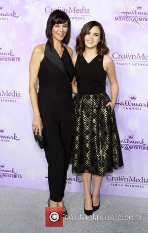 Catherine Bell and Bailee Madison