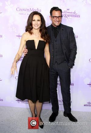 Andie Macdowell and Lawrence Zarian