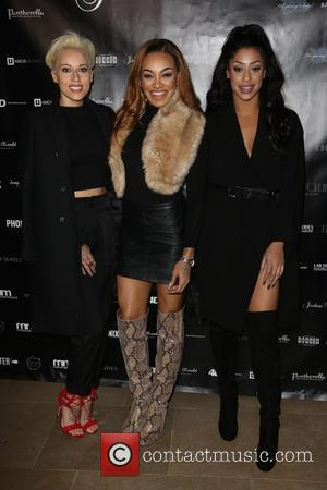 Stooshe, Alexandra Buggs, Karis Anderson , Courtney Rumbold - London Collections: Men A/W 2016 - Joshua Kane - Arrivals at...