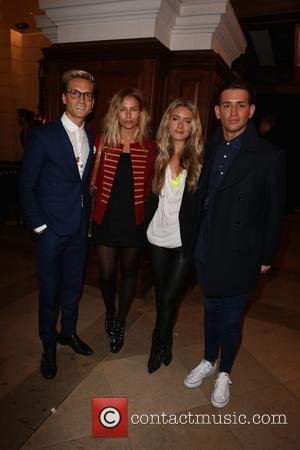 Oliver Proudlock, Emma Connolly, Guest , Ollie Locke - London Collections: Men A/W 2016 - Joshua Kane - Arrivals at...