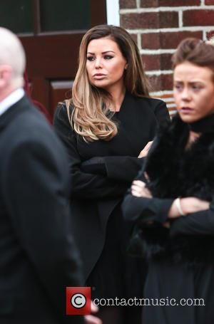 Jessica Wright - Family, friends and The Only Way Is Essex cast members gather outside the house ahead of the...