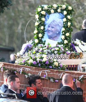 Mark Wright - Family, friends and The Only Way Is Essex cast members attend the funeral of Mark and Jessica...