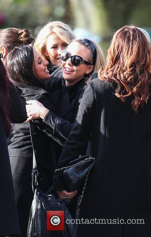 Lydia Bright - Family, friends and The Only Way Is Essex cast members attend the funeral of Mark and Jessica...