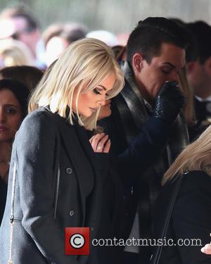 Chloe Sims - Family, friends and The Only Way Is Essex cast members attend the funeral of Mark and Jessica...