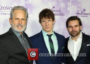Gregory Harrison, Eric Mabius and Geoff Gustafson
