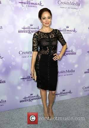 Autumn Reeser - Hallmark Channel and Hallmark Movies & Mysteries Winter 2016 TCA Press Tour - Arrivals at Tournament House...