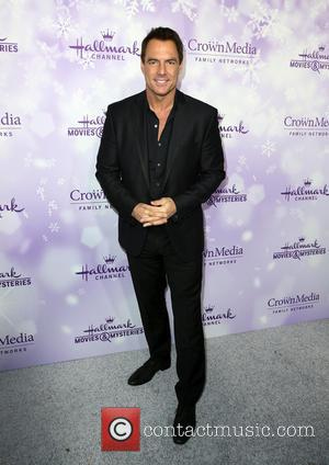 Mark Steines - Hallmark Channel and Hallmark Movies & Mysteries Winter 2016 TCA Press Tour - Arrivals at Tournament House...