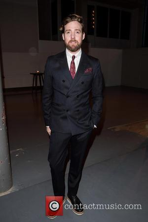Ricky Wilson - London Collections: Men A/W 2016 - Oliver Spencer - Front row at 180 Strand - London, United...