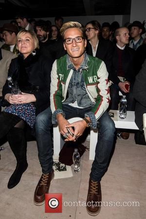 Oliver Proudlock - London Collections: Men A/W 2016 - Oliver Spencer - Front row at 180 Strand - London, United...