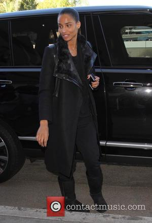 Ciara - Ciara arrives at Los Angeles International (LAX) Airport to catch a flight - Los Angeles, California, United States...