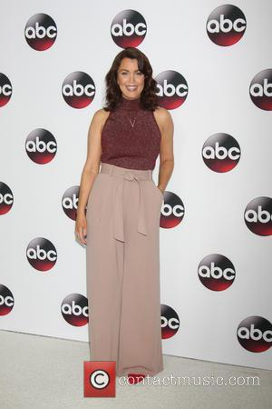 Bellamy Young - Disney/ABC Winter TCA Tour held at the Langham Huntington Hotel - Arrivals at The Langham Huntington Hotel,...
