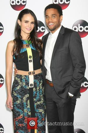 Jordana Brewster and Michael Ealy
