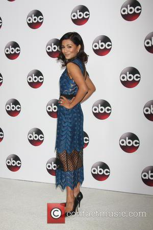 Karen David - Disney/ABC Winter TCA Tour held at the Langham Huntington Hotel - Arrivals at The Langham Huntington Hotel,...