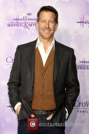 James Denton - Hallmark Channel and Hallmark Movies & Mysteries Winter 2016 TCA Press Tour - Arrivals at Tournament House...