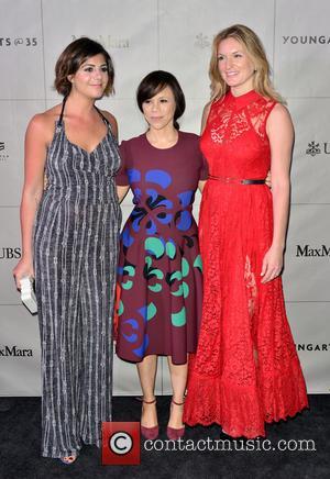 Maria Giulia, Rosie Perez and Sarah Arison