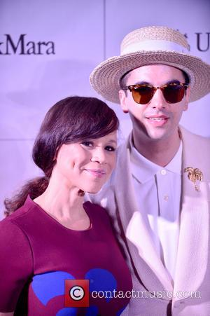 Rosie Perez and Dj Cassidy