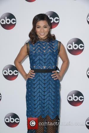 Karen David - Disney/ABC Winter TCA Tour at the Langham Huntington Hotel - Arrivals at Langham Hotel - Pasadena, CA,...