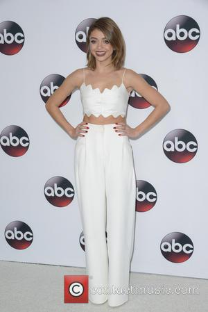 Sarah Hyland - Disney/ABC Winter TCA Tour at the Langham Huntington Hotel - Arrivals at Langham Hotel - Pasadena, CA,...