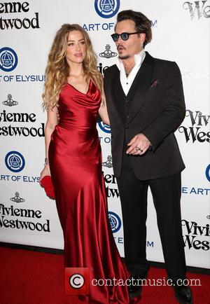 Amber Heard , Johnny Depp - The Art of Elysium presents Vivienne Westwood and Andreas Kronthaler 2016 HEAVEN Gala -...