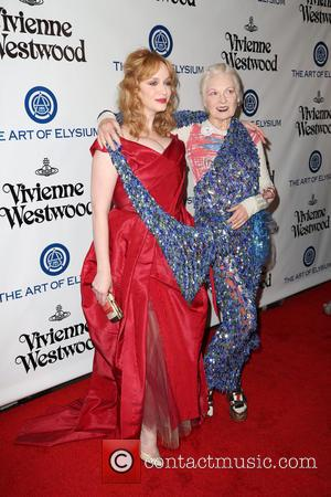 Christina Hendricks and Vivienne Westwood